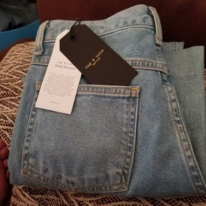 Justine Wide-Leg Ankle Jeans In Broken Nelly